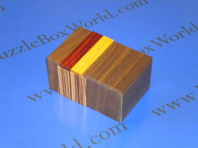 Bean Bag Japanese Puzzle Box by Hiroshi Iwahara