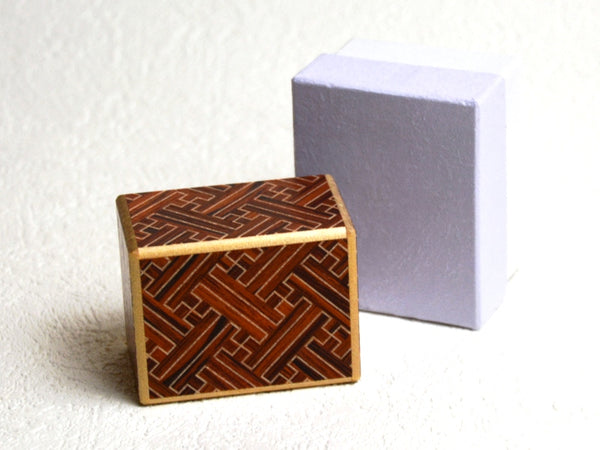 2 Sun 10 Step AkaSaya Japanese Secret Puzzle Box