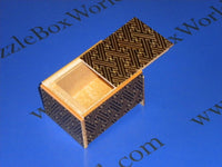 3 Sun 4 Step Saya Japanese Puzzle Box