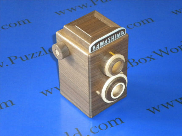 Twin Lens Reflex Camera Japanese Puzzle Box