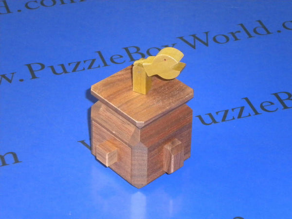 Snake Charmer Training Japanese Puzzle Box by Yoh Kakuda