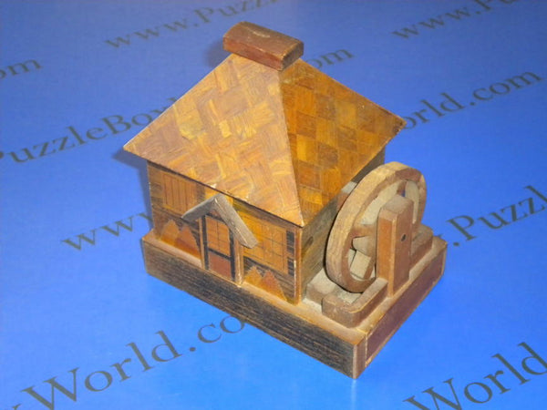 Grist Mill Japanese Puzzle Box