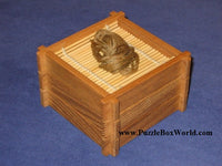 Soba (Buckwheat Noodles) Japanese Puzzle Box by Hideto Satou