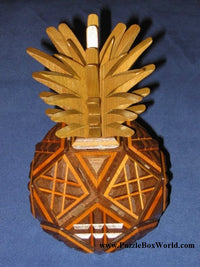 Pineapple Secret Puzzle Boxes by Hiroshi Iwahara
