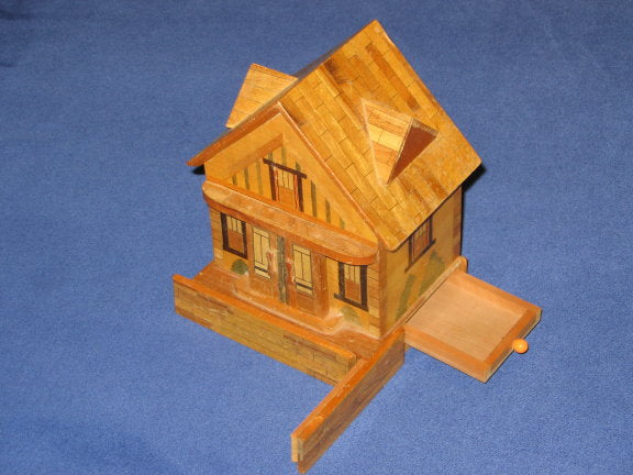 Vintage Japanese House Bank (Hipped Roof)