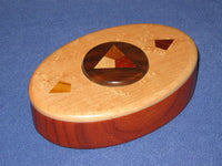 Heartwood Button Puzzle Box