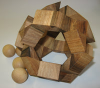 Four Marbles Interlocking Puzzle