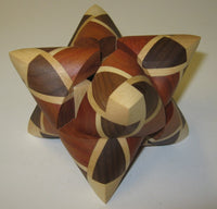 Dual Tetrahedron 09 Interlocking Puzzle