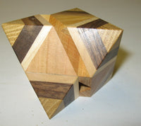 Octahedron Box 7 Interlocking Puzzle