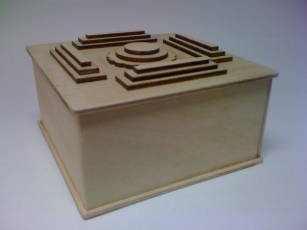 The Inca Puzzle Box (Self Assembly Kit)
