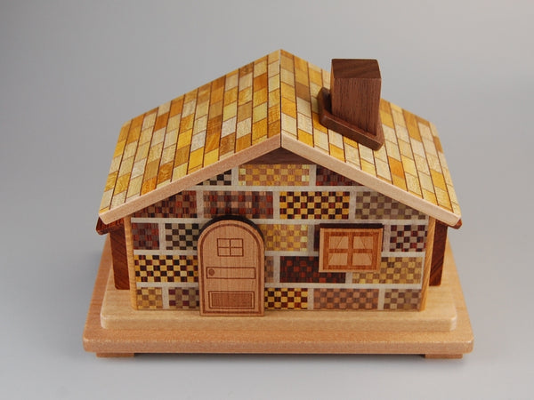 12 Step Secret House Japanese Puzzle Box #2 BP