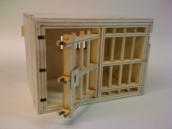 Jail Cell Puzzle Box (Self Assembly Kit)