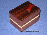 Karakuri Chocolate Cake Japanese Secret Puzzle Box