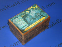RARE LARGE Vintage Disneyland Haunted Mansion Japanese Secret Panel Chest