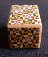 Mame 18 Step Yosegi Japanese Puzzle Box by Okiyama