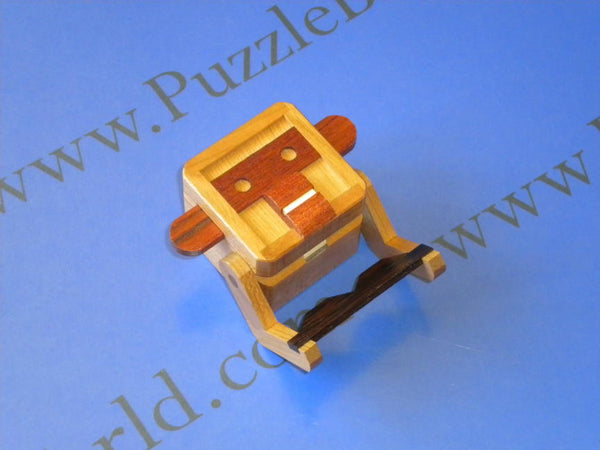 Mr. Monkey Japanese Puzzle Box by Shiro Tajima