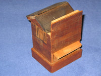 Unique Vintage Japanese House Puzzle Box Bank2