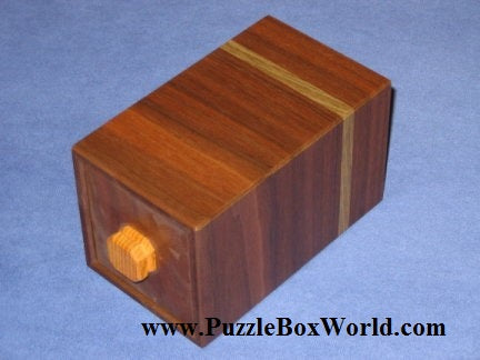 Openable Japanese Puzzle Box by Hideto Satou