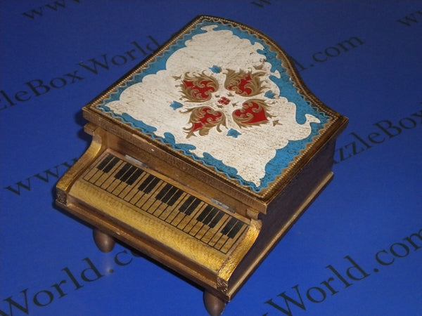 Vintage Japanese Piano Music Box (NOT A PUZZLE)