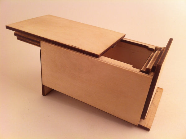 The Plain Old Puzzle Box (Self Assembly Kit)