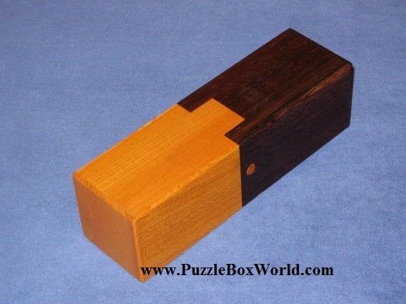 Pneumatic Japanese Puzzle Box by Akio Kamei
