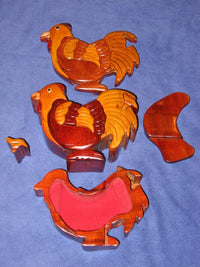 Rooster Vietnamese Puzzle Box