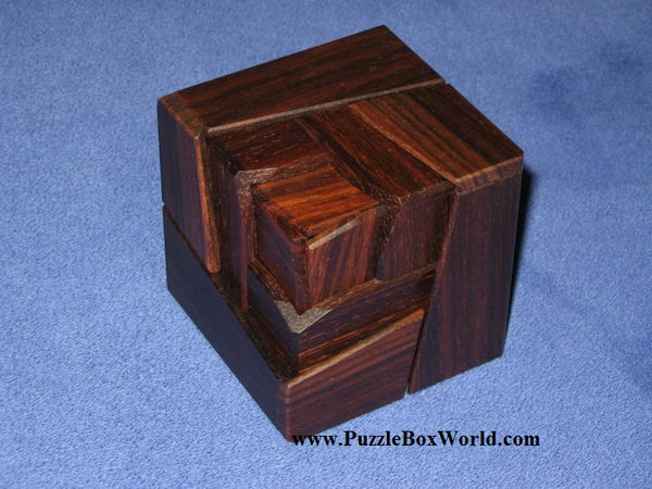 Rose Japanese Puzzle Box (RW)