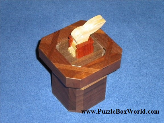 The Magic Hat Japanese Puzzle Box