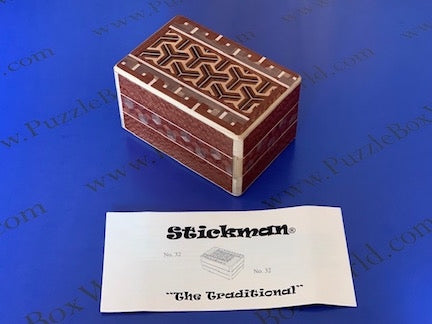 The Traditional Puzzle Box by Robert Yarger (Stickman Puzzles)