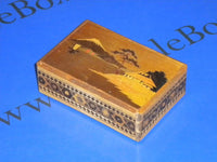 Vintage Rare 2 Step Japanese Puzzle Box