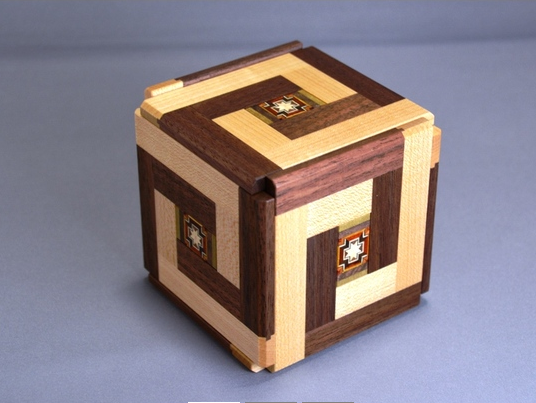XY Central Parquet Special Edition Japanese Puzzle Box