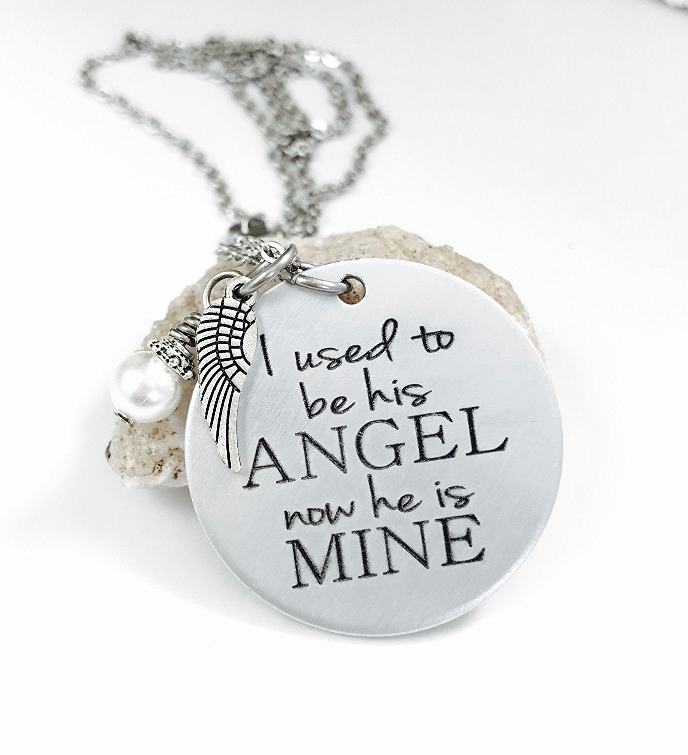 mine memorial be necklace i angel of his sugar to dots is products he now used