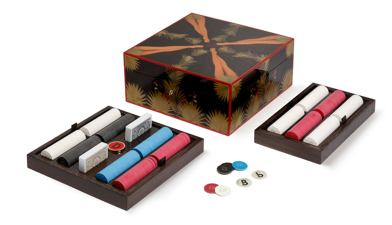 Eden Rock limited edition poker set - Black