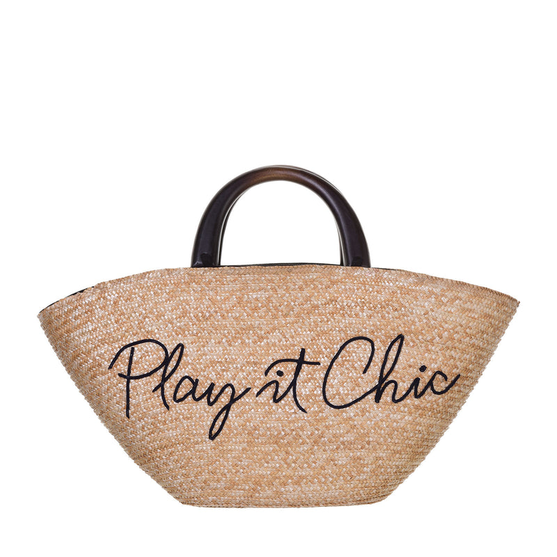 Play it chic tote bag