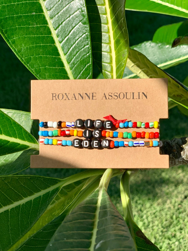 Roxanne Assoulin 'Life is Eden' Camp Bracelet