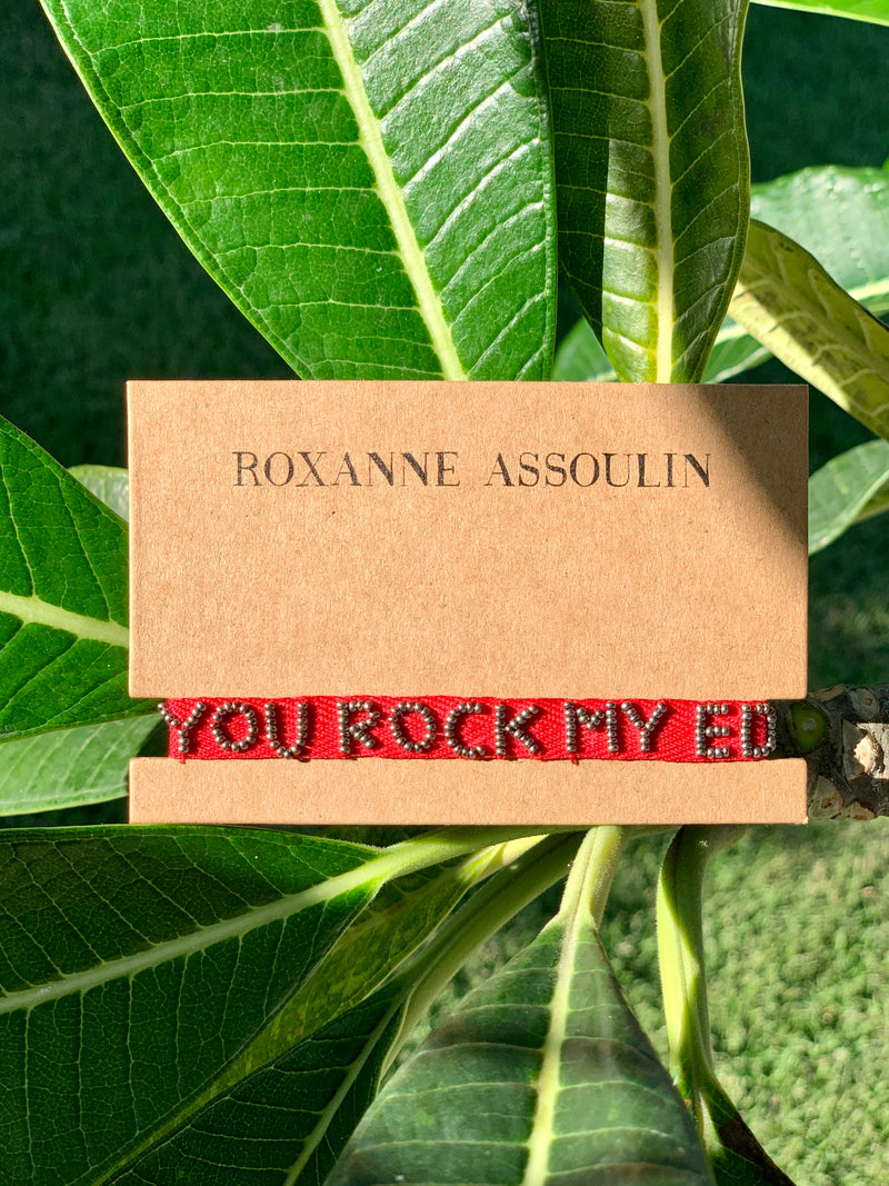Roxanne Assoulin 'You Rock My Eden' Tie-On Bracelet