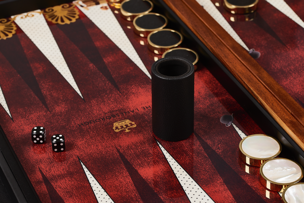 The Lanesborough backgammon board