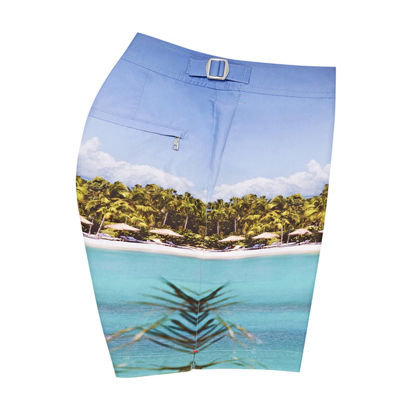 Jumby Bay exclusive edition swim shorts