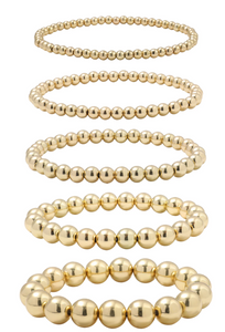 GOLD BEAD STACKERS