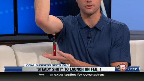 Steady Shot For Pen Needles was featured by NBC 15 Madison. Invention for insulin administration to make blood sugar better.