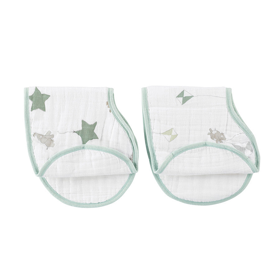 Up Up+ Away 2-pack Classic Burpy Bibs
