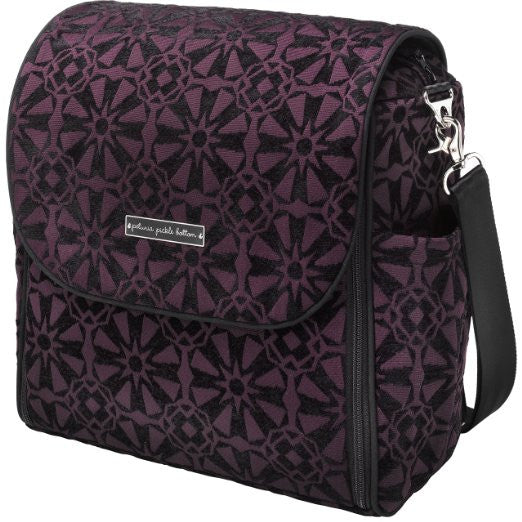 Boxy Backpack Chenille- Evening Plum