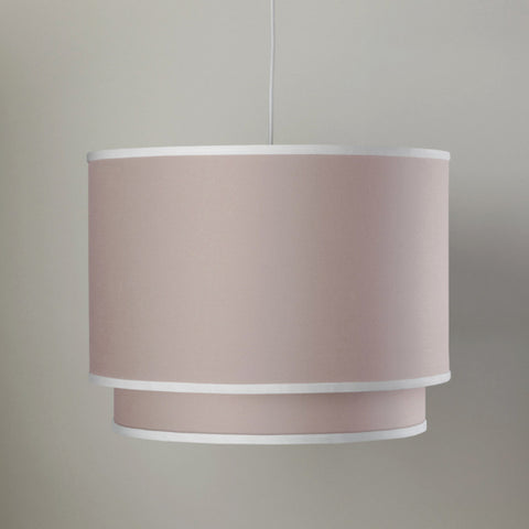 Solid Double Cylinder- Blush