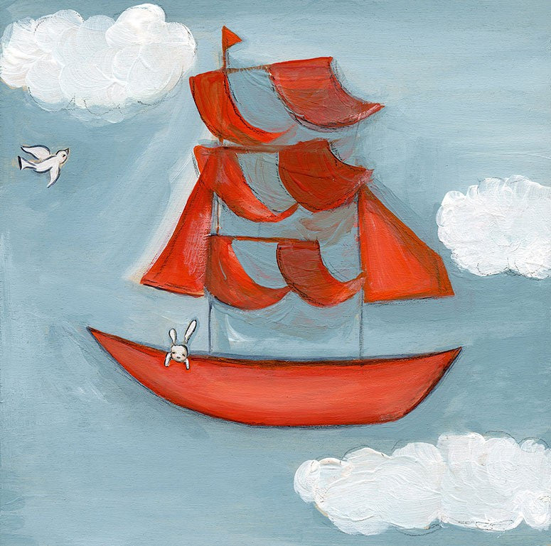 Canvas Wall Art- Sky Sailing