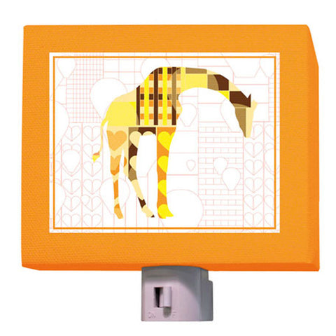A to Z Animal Prints- Giraffe Nightlight