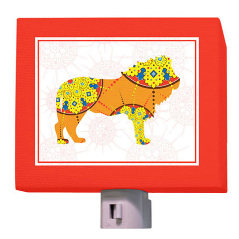 A to Z Animal Prints- Lion Nightlight