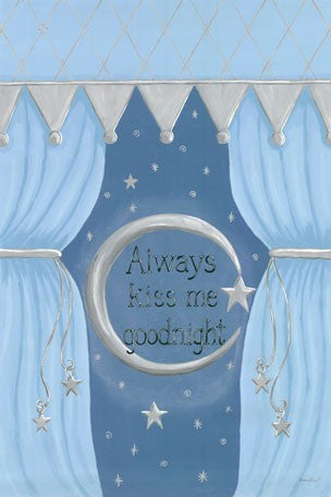 Canvas Wall Art- Always Kiss Me Goodnight
