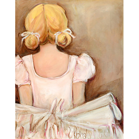 Beautiful Ballerina Wall Art-Blonde