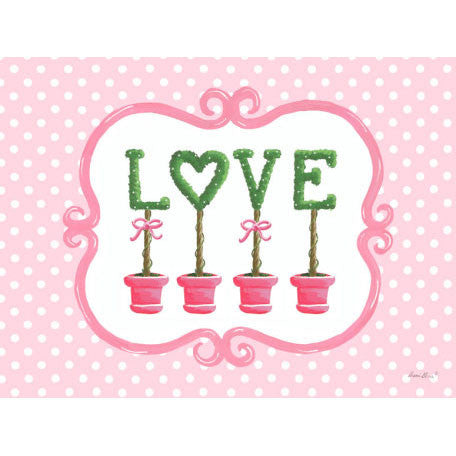 Bella Love Topiary Wall Art