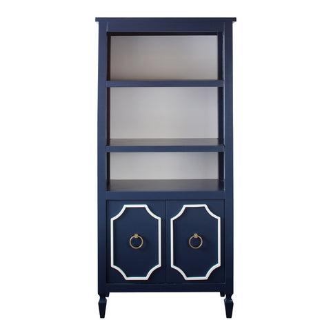 Beverly 2 Drawer Bookcase